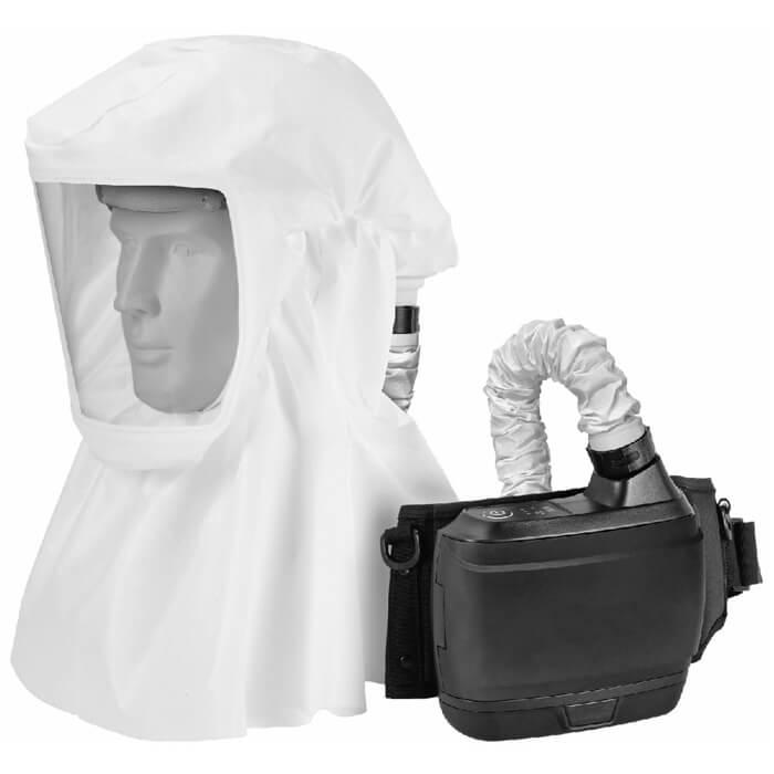Kukla s respirátorem